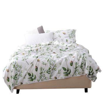 凯诗风尚蚕丝被卡莱亚系列全棉印花蚕丝被200*230cm