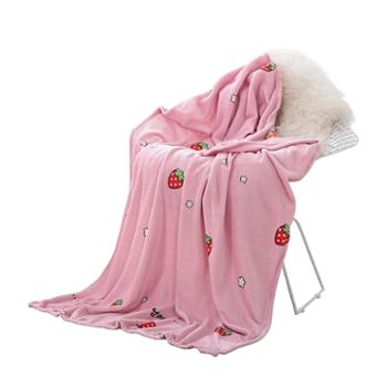 凯诗风尚超柔法兰绒毛毯时尚休闲毯盖毯