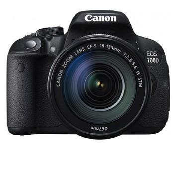 佳能(Canon) EOS 700D 单反套机 (EF-S 18-135mm f/3.5-5.6 IS STM镜头)