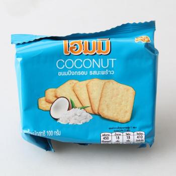 贝斯娜 随身包 椰子味饼干 100g