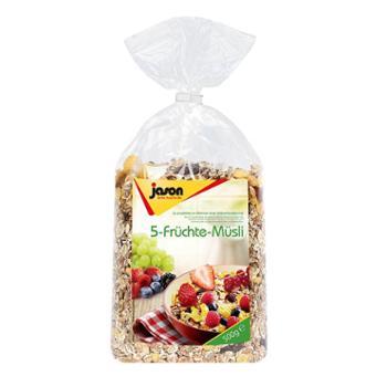 捷森五种水果麦片500g