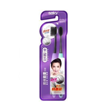 舒客炭丝能量牙刷两支特惠装