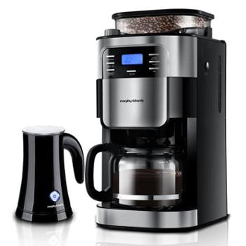 摩飞 MR1025咖啡机 全自动磨豆 家用办公室咖啡壶