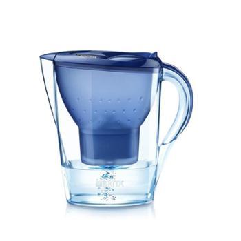 碧然德过滤净水器家用滤水壶净水壶Marella金典蓝3.5L