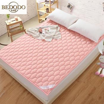 冬冬宝家纺全棉床垫褥子学生防潮防滑床上用品包邮