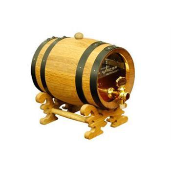 高档橡木酒桶 礼品 1.5L容量 可视碳化型桶