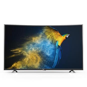 TCL D55A930C 55英寸 真4K曲面30核安卓智能HDR液晶电视机(黑色)