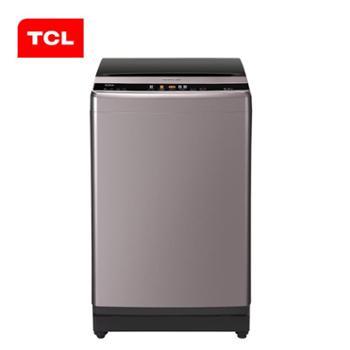 TCLXQBM85-302L8.5公斤全自动波轮洗衣机蓝光杀菌可拆卸波轮(皓月银)