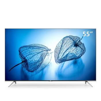 TTCLD55A630U55英寸超薄金属机身30核HDR4K超清智能电视机(黑色)