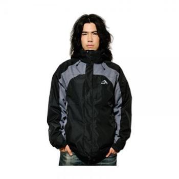 极限户外 皓雪两件套二合一防寒保暖冲锋衣 男款