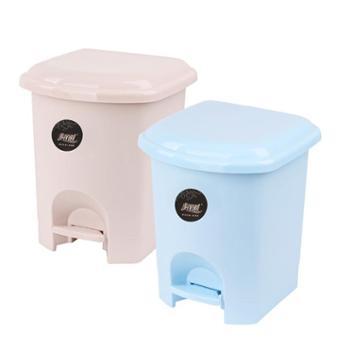美丽雅脚踏式垃圾桶家用卫生间带盖有盖厕所脚踩厨房拉圾桶