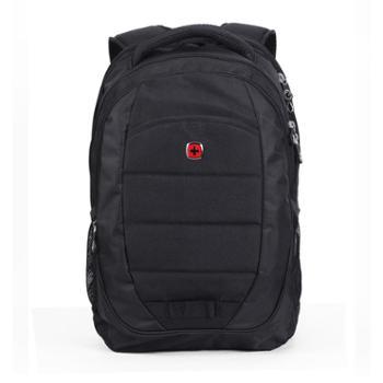 威戈WENGER经典酷黑轻便电脑双肩背包SAB325713109047-A
