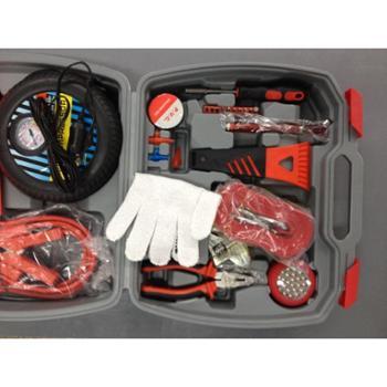 【橙屋】雷傲汽车应急工具套装送礼佳品救援工具套装自驾游多功能车载急救包特价主推