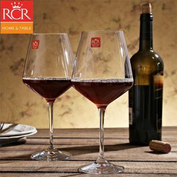 意大利RCR水晶波尔多红酒杯大号高脚杯葡萄酒杯套装