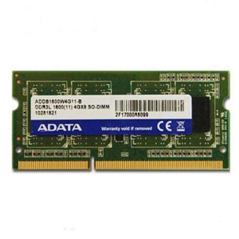 ADATA/威刚 笔记本内存条8G 1600 DDR3L兼容1333电脑内存