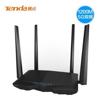 腾达(Tenda)AC6 1200M 11ac双频无线增强型路由器 穿墙大户型