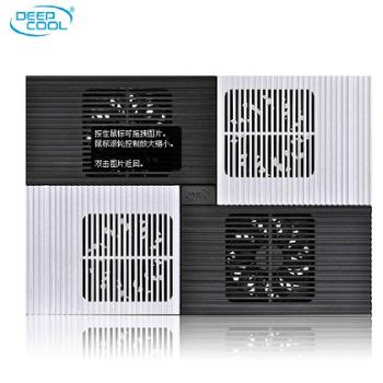 九州风神x8笔记本散热器14寸铝面板苹果联想15.6寸散热器静音