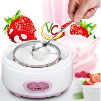 小浣熊HM-368酸奶机全自动家用不锈钢内胆米酒纳豆机酸奶机