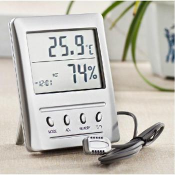 博洋WSB-2 温湿度计带外接探温湿度计头高精度湿度表