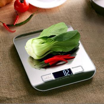 不锈钢家用厨房秤烘培蛋糕称精准电子厨房称重中药小台秤