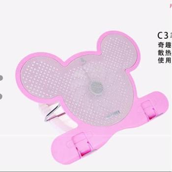 酷奇C3笔记本散热器14寸15.61312.5电脑支架散热架子垫板静音