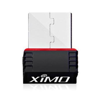 西默M11USB大功率无线网卡信号发射随身wifi接收器台式机笔记本ap(玖融分期购)