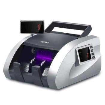 得力验钞机银行专用小型办公家用便携式迷你新版人民币智能点钞机