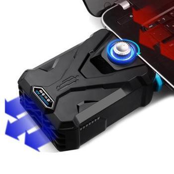酷睿冰尊F1排风扇笔记本抽风式散热器风冷电脑底座14寸15.6寸17