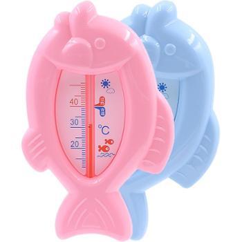 婴儿洗澡宝宝水温计宝宝洗澡水温卡新生儿童测水温温度计家用两用