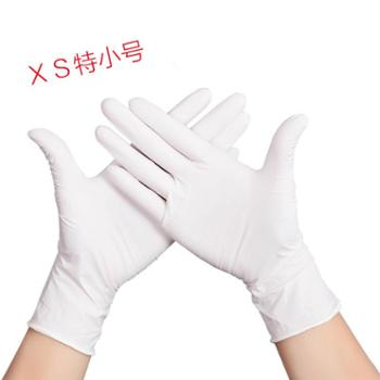 一次性手套女乳胶橡胶食品餐饮厨房家用手术塑料pvc100只防水加厚