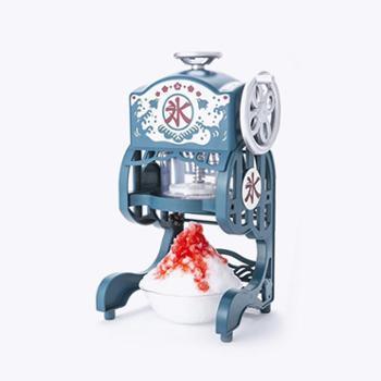 日本家用小型电动刨冰机绵绵冰雪花冰机碎冰机冰沙机炒冰机送冰盒