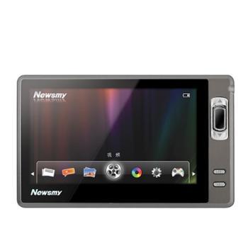 纽曼MP4MP5播放器外放A11HD+8G高清迷你智能薄款运动学生全金属