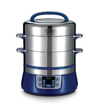 拓璞多层蒸鱼海鲜电蒸锅304不锈钢多功能大容量预约家用电蒸笼