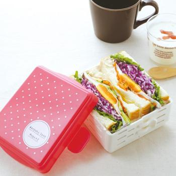 日本三明治模具早餐面包吐司盒DIY便当制作器厨房蛋糕寿司套装