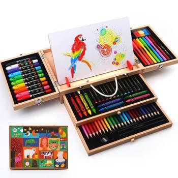美乐儿童绘画套装工具初学者美术用品画画文具礼盒