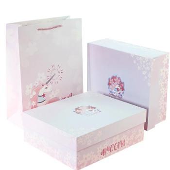 高端独角兽学生礼物男女儿童文具套装礼盒学习用品
