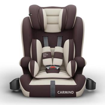 儿童安全座椅汽车用带杯架婴儿宝宝车载9个月-12周岁简易通用坐椅