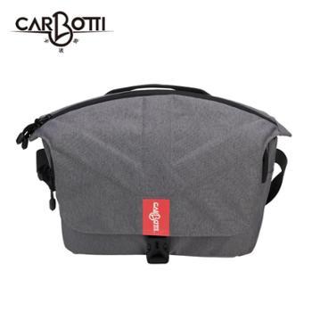 carbotti日韩风 单肩便携斜挎摄影包 户外休闲防泼水单反相机包