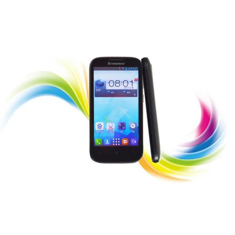联想 A385e 电信3G手机 深邃黑 白色 CDMA2000 GSM 双卡双待