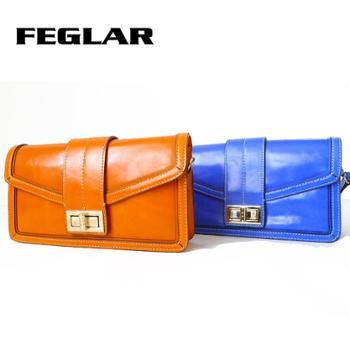 菲格品牌尔真皮女士手提包手拿包单肩包包邮