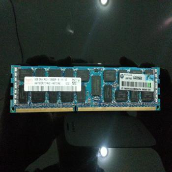 HP 8GB 2RX4 PC3-10600-9 服务器内存