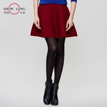 舒朗 新款女裙 气质百搭女打底裙半身短裙 DS2153D001