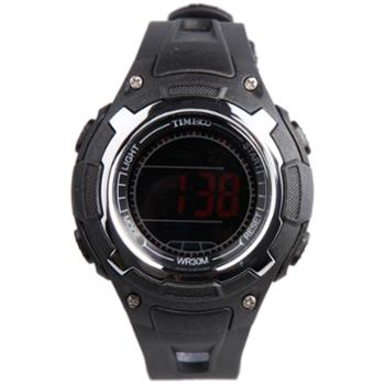 时光一百多功能户外运动电子表学生手表儿童手表户外运动手表送男孩送女孩礼物W40095M
