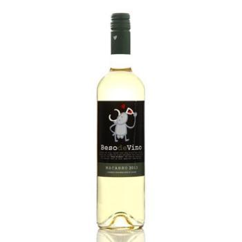 【中粮我买网】酒之吻干白葡萄酒750ml(西班牙进口)