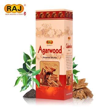 RAJ印度香 沉香木Agarwood 正品印度原装进口手工香薰熏香线香001
