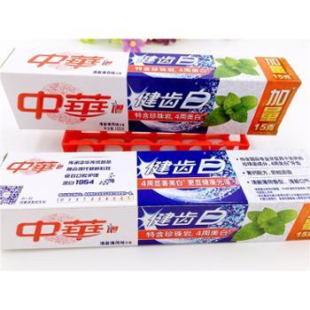 中华健齿白炫动果香味/薄荷味牙膏105g