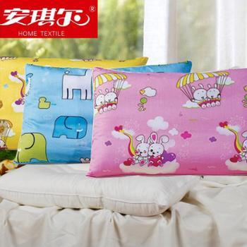 安琪尔家纺 床上用品 儿童保健枕 决明子枕芯 一只装 送全棉枕套