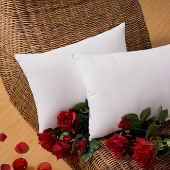 安琪尔 舒适透气单人枕学生柔软枕芯枕头 一只装