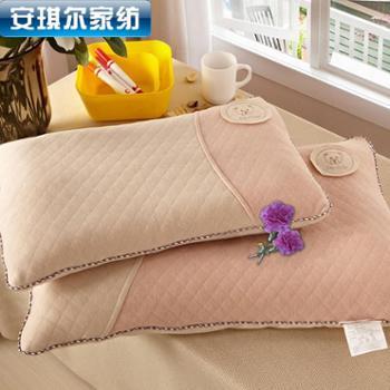 安琪尔家纺彩棉宝宝枕芯 保健护颈助眠枕头 一只装