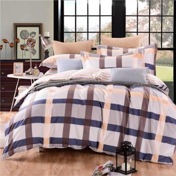 安琪尔家纺 床上用品 全棉印花被套160*210 单人学生宿舍纯棉被罩